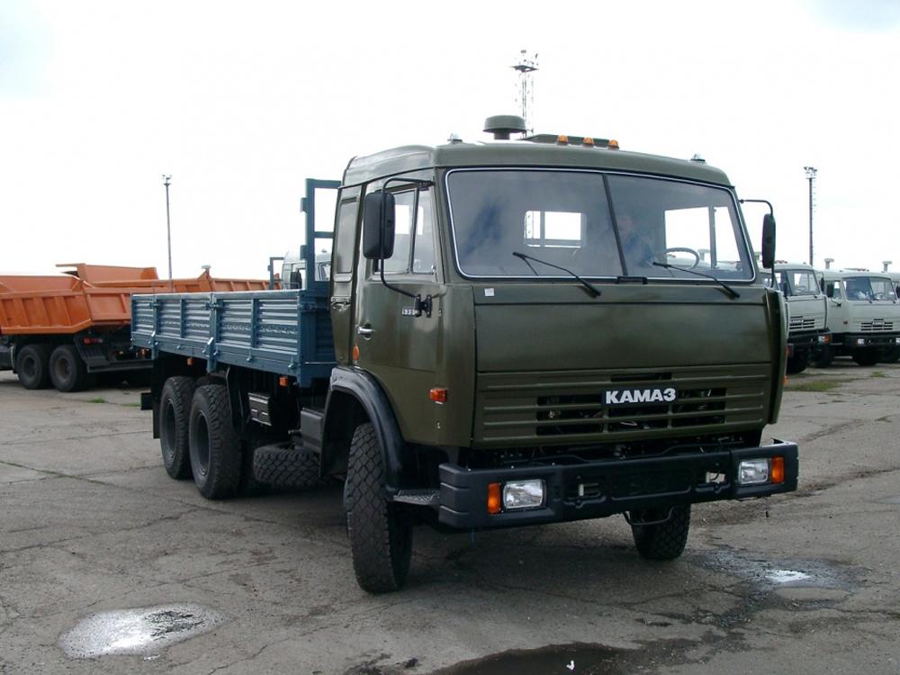 Аренда грузовика КамАЗ 53115