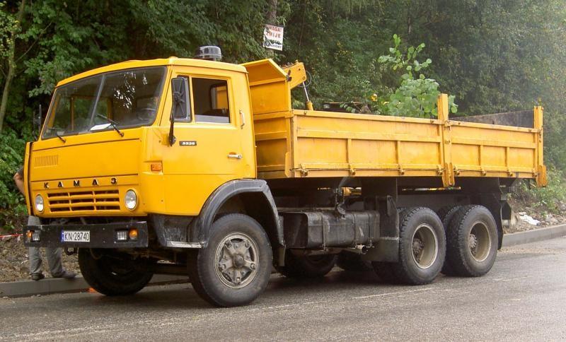 Аренда грузовика КАМАЗ