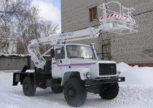 Аренда автовышки ТА-18 в Воронеже