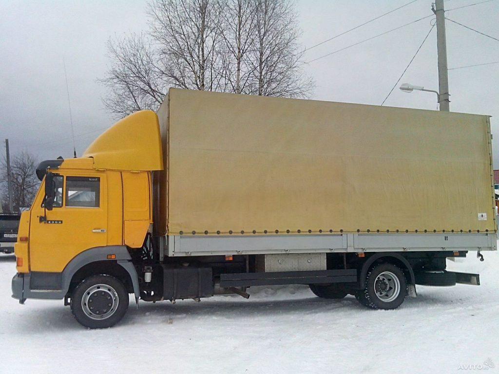 Аренда грузовика Камаз 5 тонн с водителем