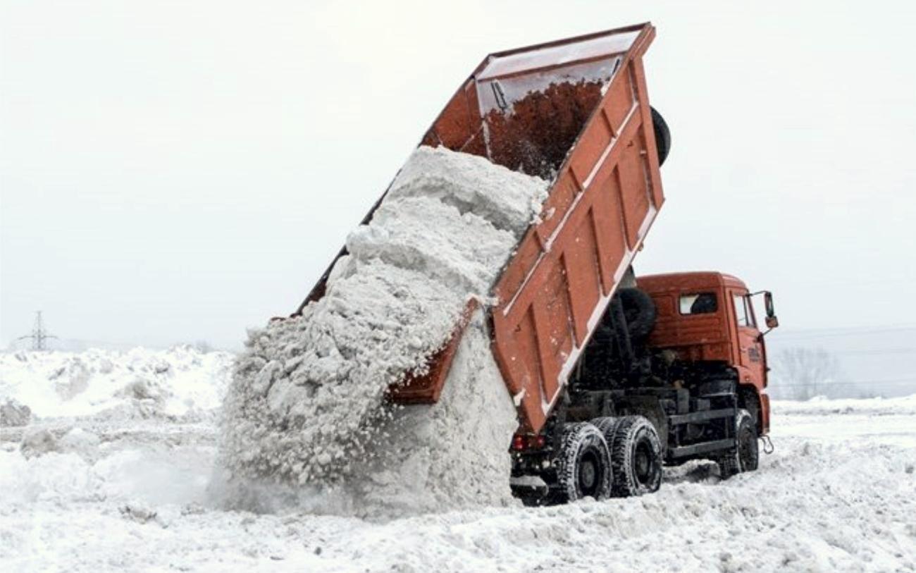 выбор самосвала для вывоза снега