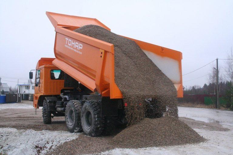 Перевозка сыпучих грузов