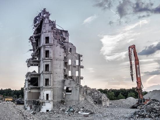 демонтаж здания фото